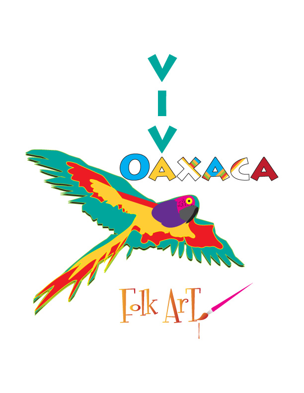 Logo Design by Diana Roder - Entry No. 58 in the Logo Design Contest Logo Design Needed for Mexican Handcrafts Website - Viva Oaxaca Folk Art.