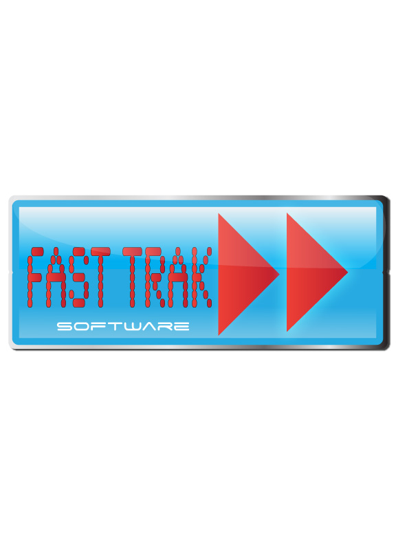 Logo Design by Diana Roder - Entry No. 48 in the Logo Design Contest Fast Trak Software Logo Design.