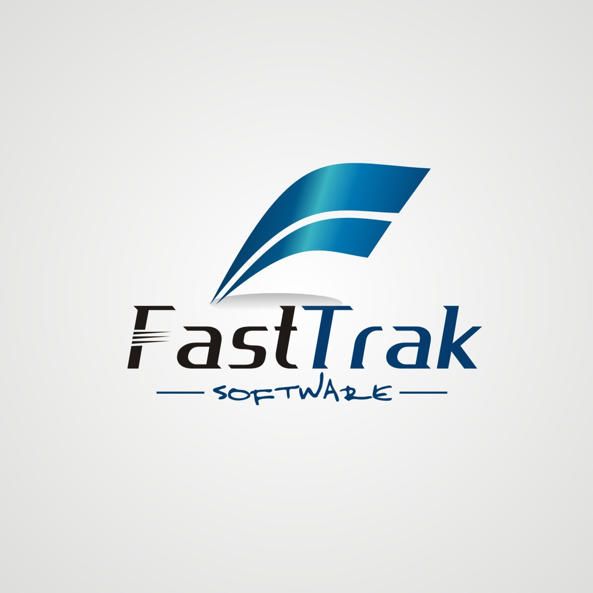 Logo Design by arteo_design - Entry No. 51 in the Logo Design Contest Fast Trak Software Logo Design.