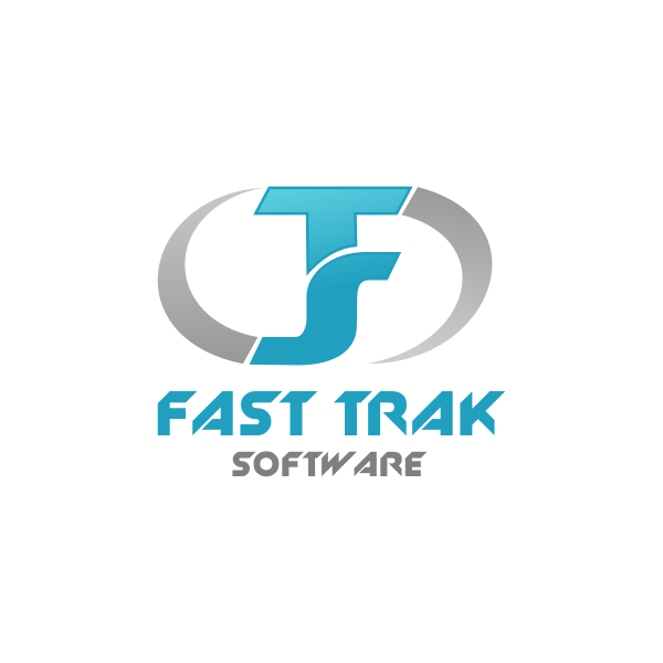 Logo Design by Rudy - Entry No. 55 in the Logo Design Contest Fast Trak Software Logo Design.