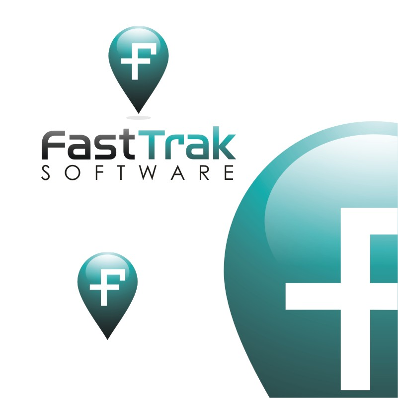 Logo Design by Private User - Entry No. 56 in the Logo Design Contest Fast Trak Software Logo Design.