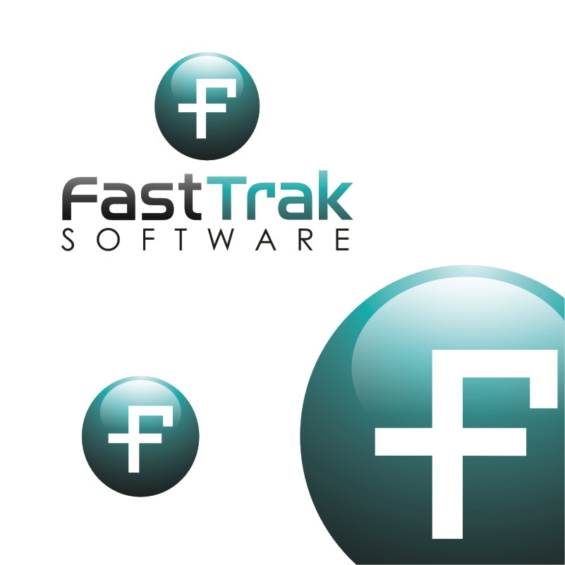 Logo Design by Private User - Entry No. 57 in the Logo Design Contest Fast Trak Software Logo Design.