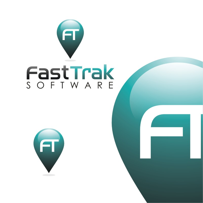 Logo Design by Private User - Entry No. 58 in the Logo Design Contest Fast Trak Software Logo Design.