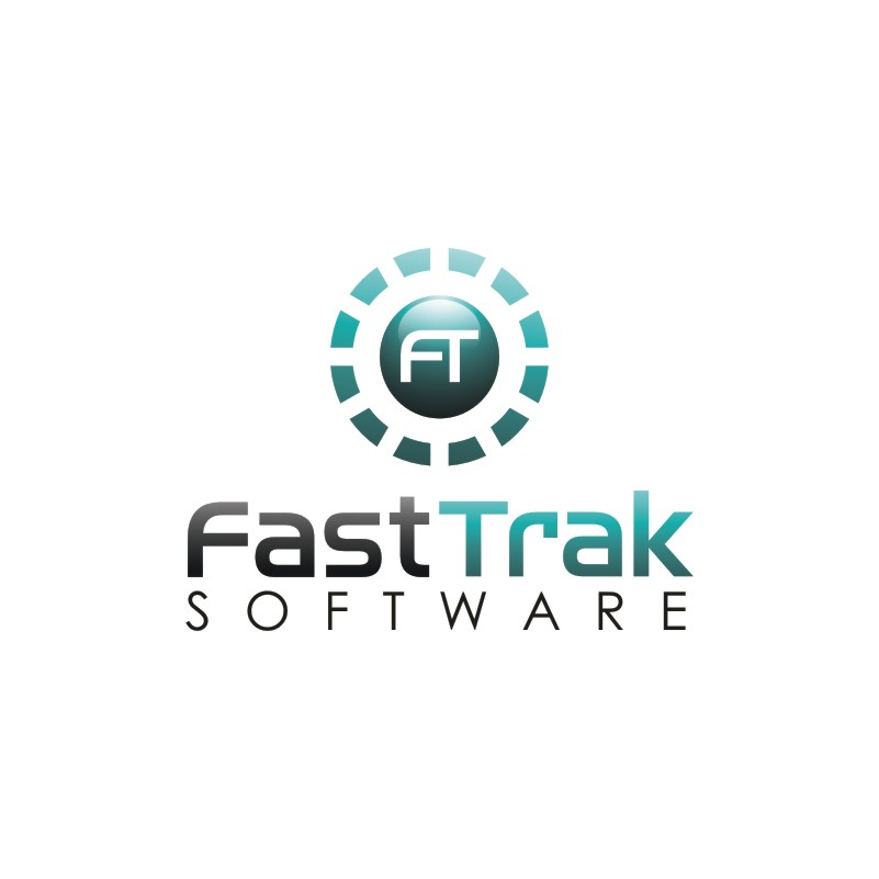 Logo Design by Private User - Entry No. 60 in the Logo Design Contest Fast Trak Software Logo Design.