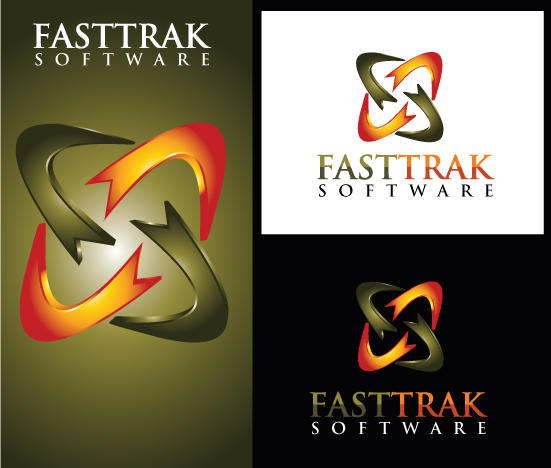 Logo Design by Sohil Obor - Entry No. 62 in the Logo Design Contest Fast Trak Software Logo Design.