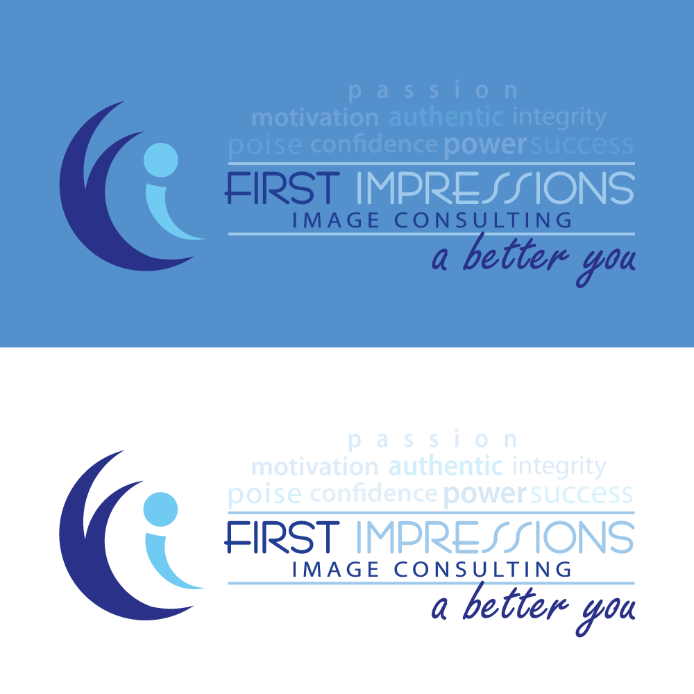 Logo Design by rockin - Entry No. 268 in the Logo Design Contest First Impressions Image Consulting Logo Design.