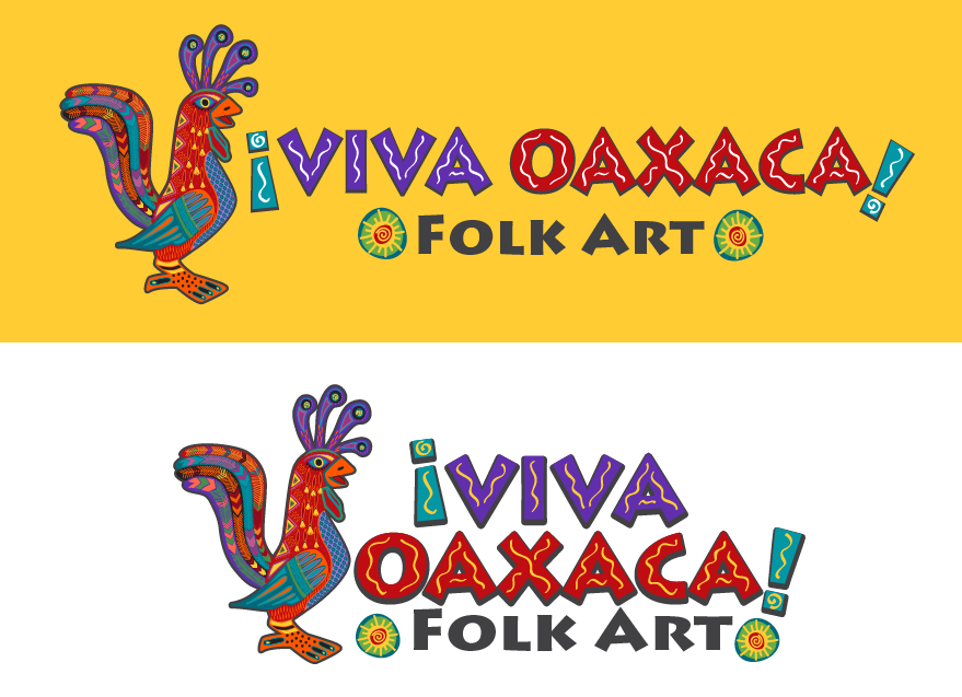 Logo Design by vwArt - Entry No. 64 in the Logo Design Contest Logo Design Needed for Mexican Handcrafts Website - Viva Oaxaca Folk Art.