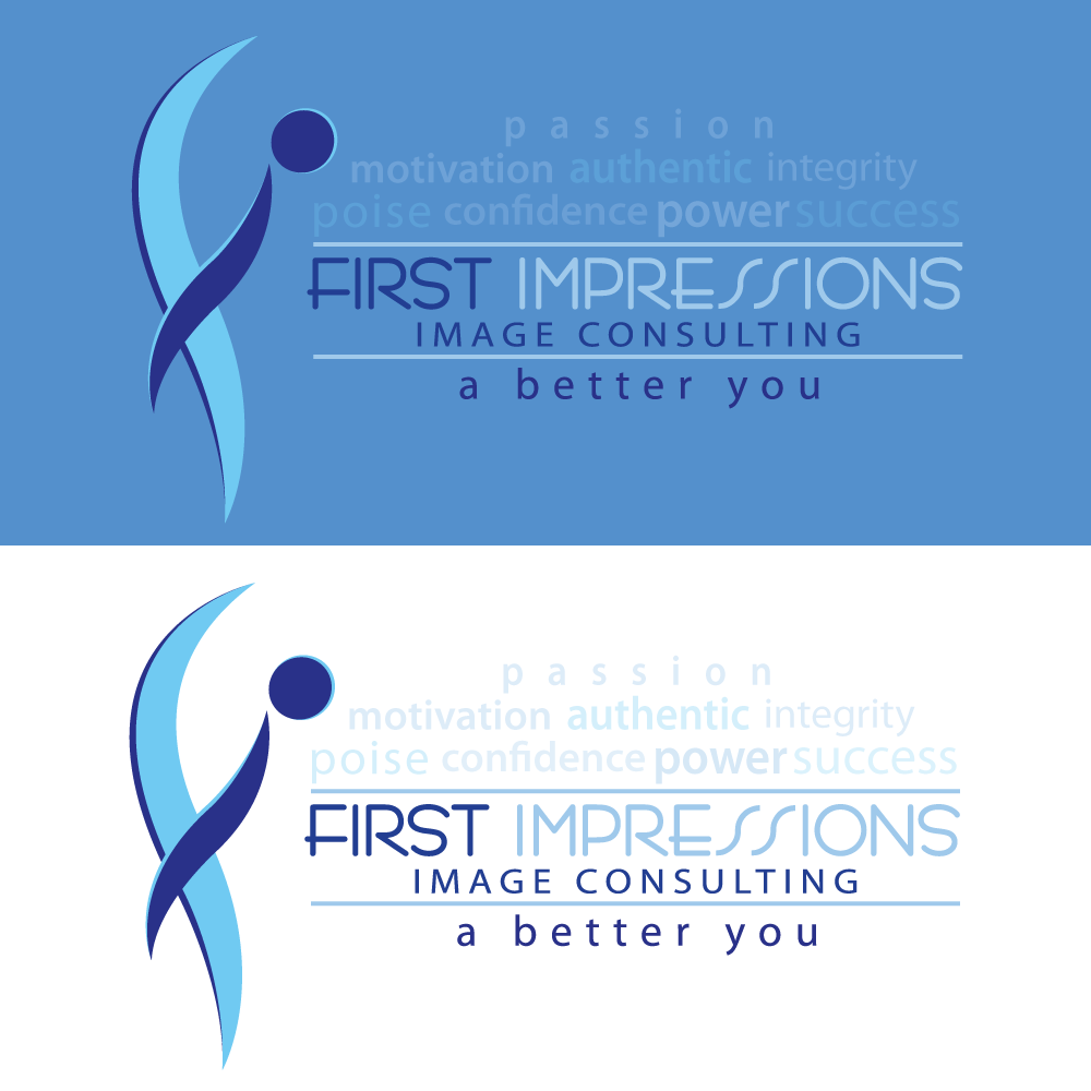 Logo Design by rockin - Entry No. 269 in the Logo Design Contest First Impressions Image Consulting Logo Design.