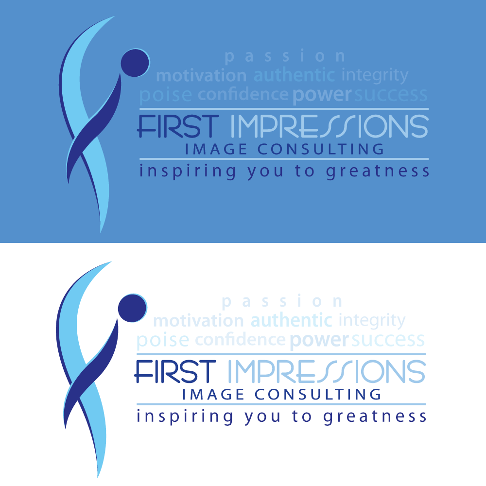 Logo Design by rockin - Entry No. 270 in the Logo Design Contest First Impressions Image Consulting Logo Design.