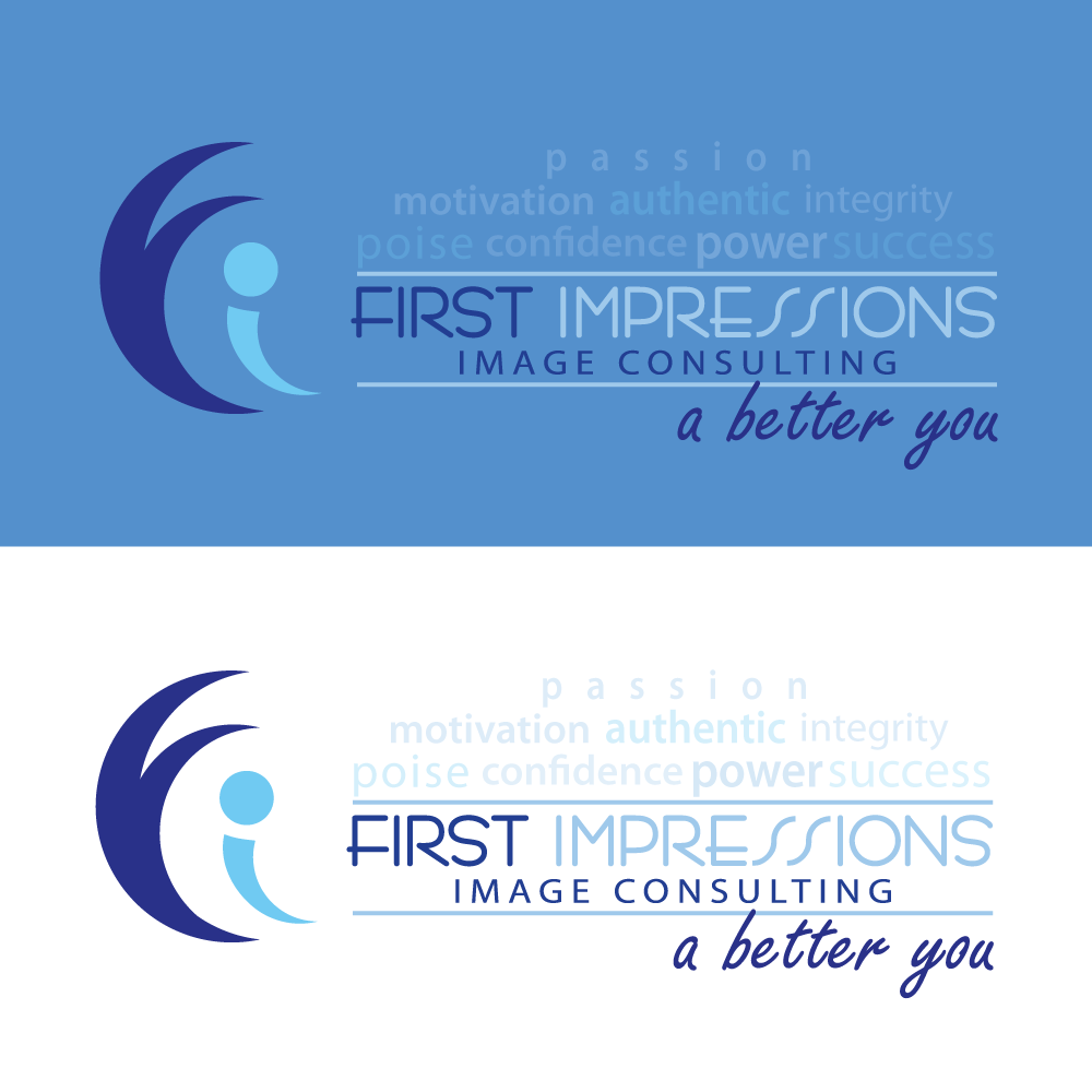 Logo Design by rockin - Entry No. 271 in the Logo Design Contest First Impressions Image Consulting Logo Design.