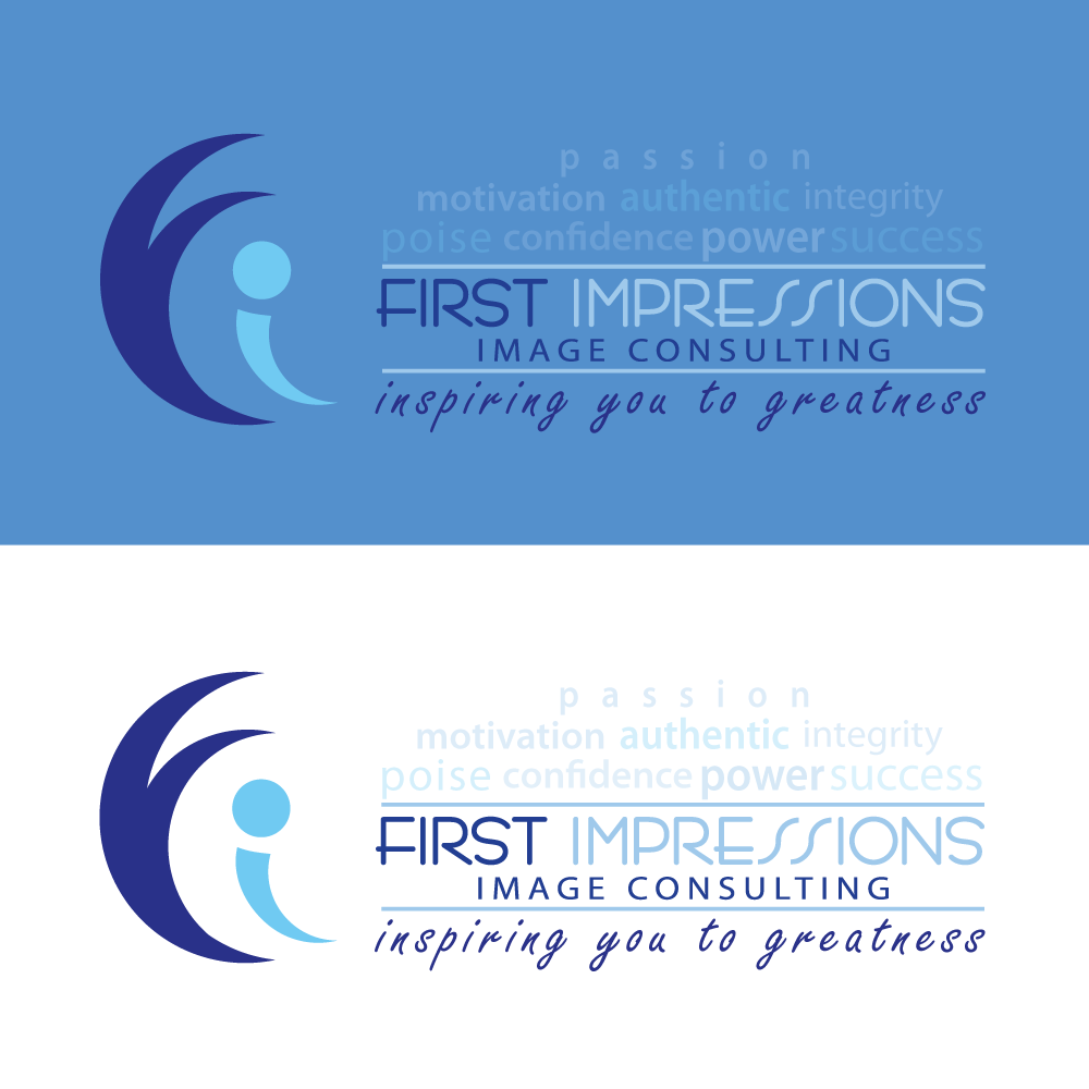 Logo Design by rockin - Entry No. 272 in the Logo Design Contest First Impressions Image Consulting Logo Design.