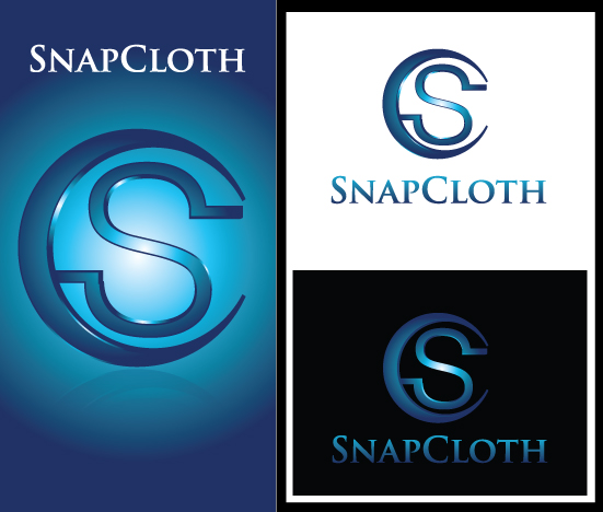 Logo Design by Sohil Obor - Entry No. 61 in the Logo Design Contest Snapcloth Logo Design.