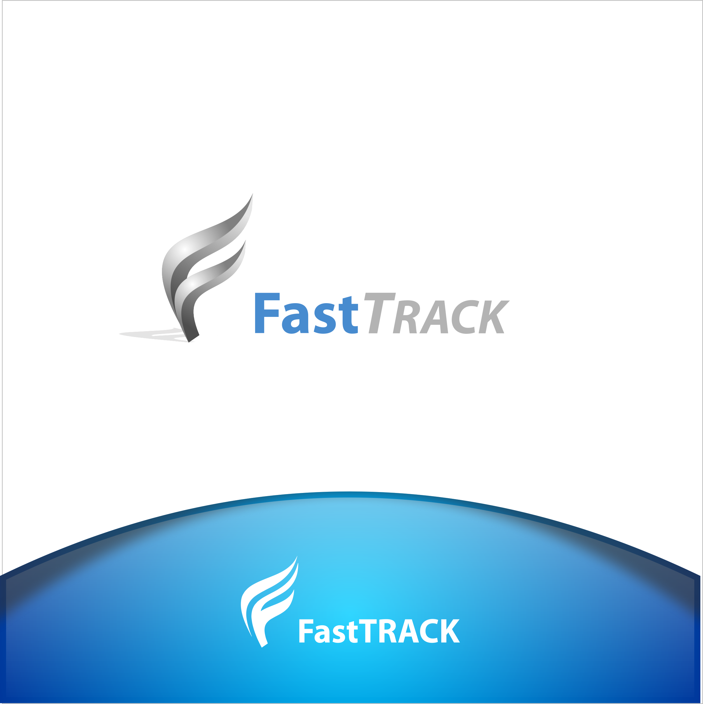 Logo Design by Spayer - Entry No. 63 in the Logo Design Contest Fast Trak Software Logo Design.