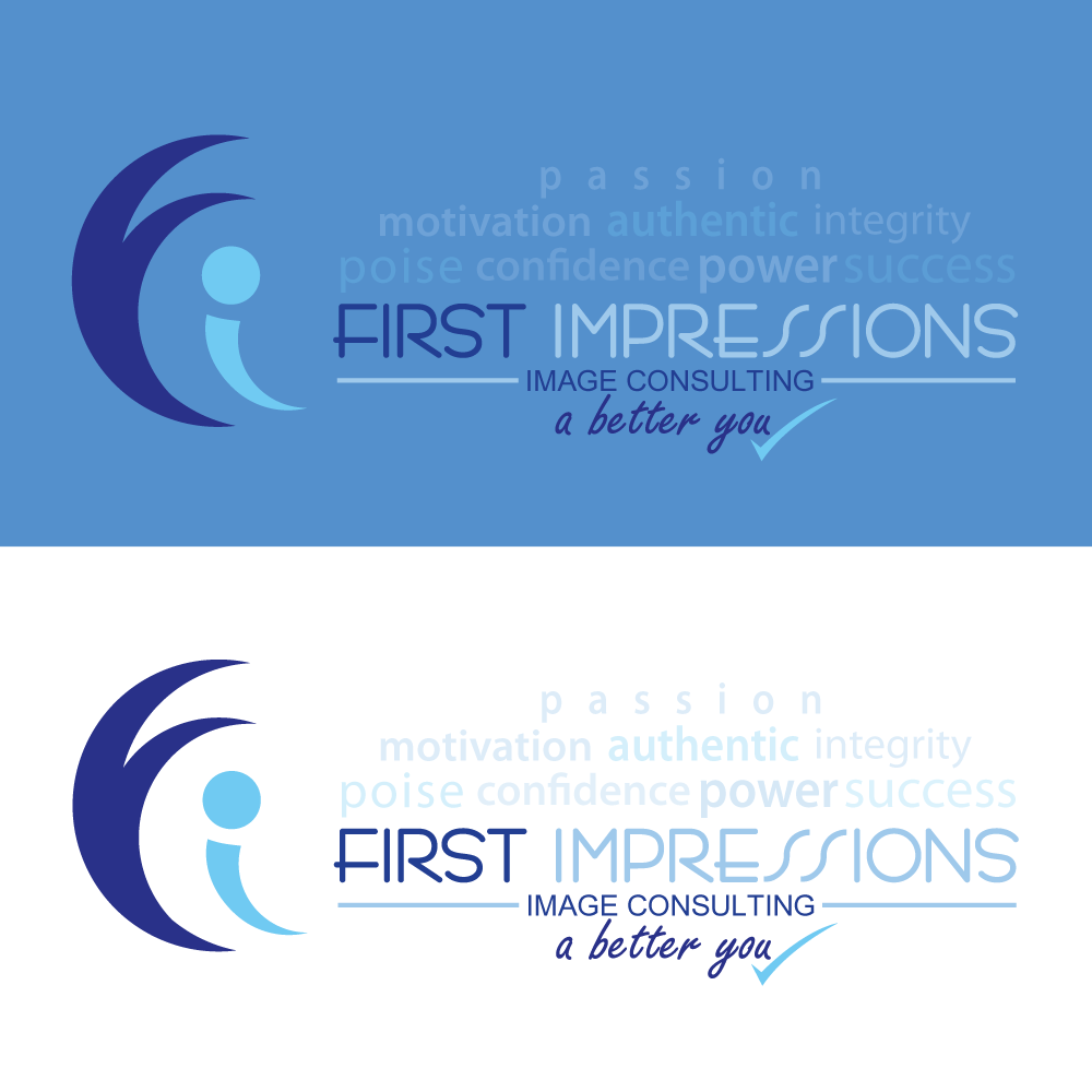 Logo Design by rockin - Entry No. 276 in the Logo Design Contest First Impressions Image Consulting Logo Design.