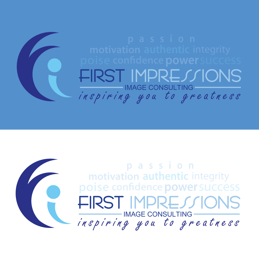 Logo Design by rockin - Entry No. 280 in the Logo Design Contest First Impressions Image Consulting Logo Design.