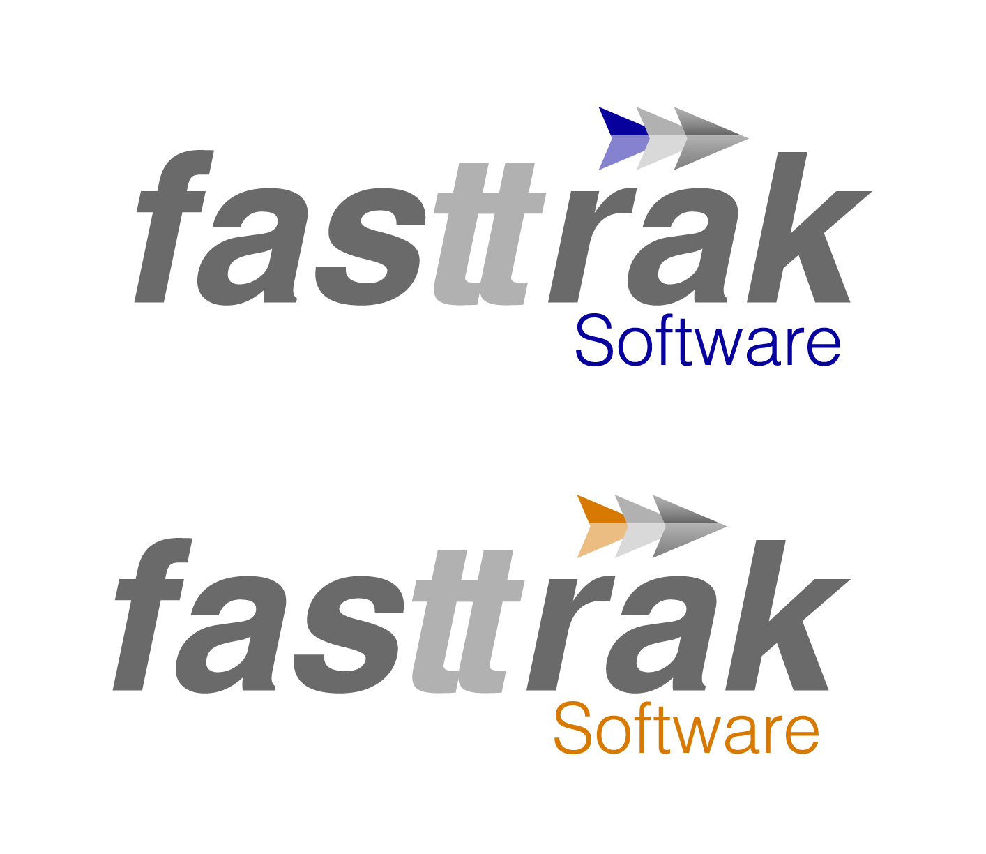 Logo Design by Lama Creative - Entry No. 64 in the Logo Design Contest Fast Trak Software Logo Design.