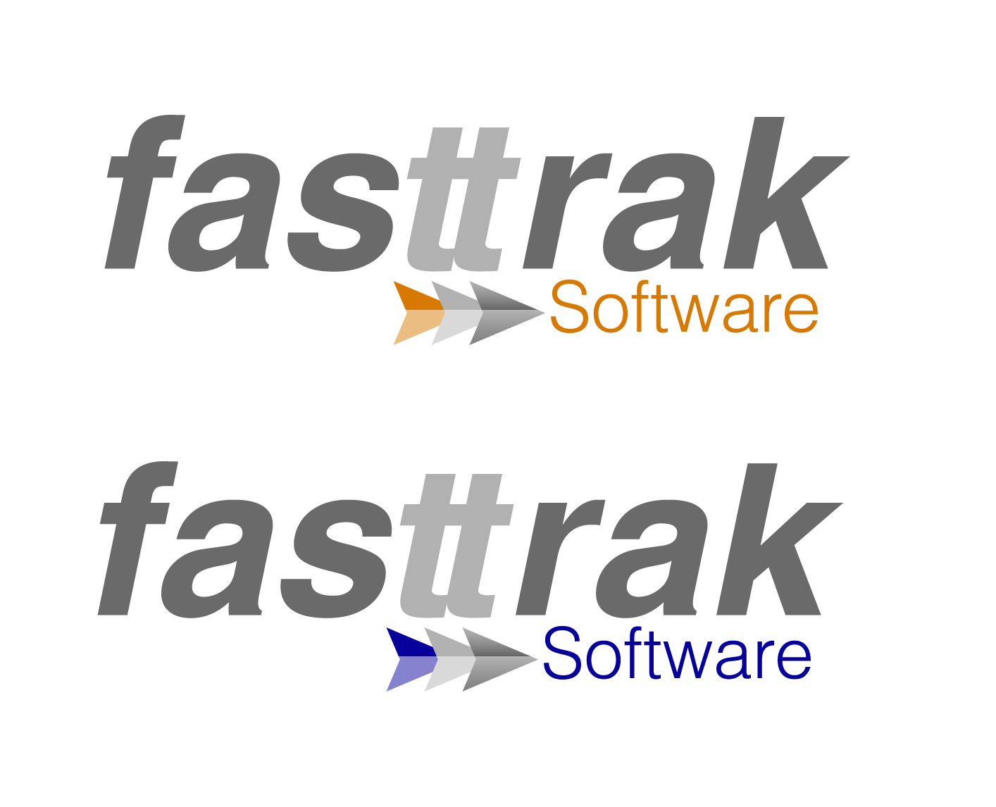 Logo Design by Lama Creative - Entry No. 65 in the Logo Design Contest Fast Trak Software Logo Design.