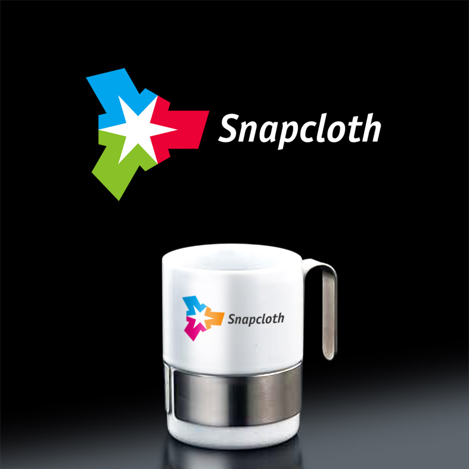 Logo Design by ARTUR PALKA - Entry No. 74 in the Logo Design Contest Snapcloth Logo Design.