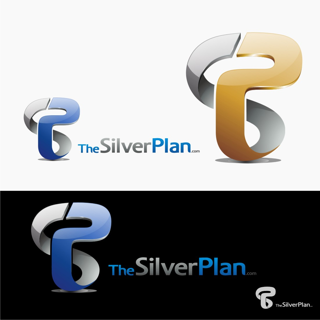 Logo Design by graphicleaf - Entry No. 73 in the Logo Design Contest New Logo Design for TheSilverPlan.com.