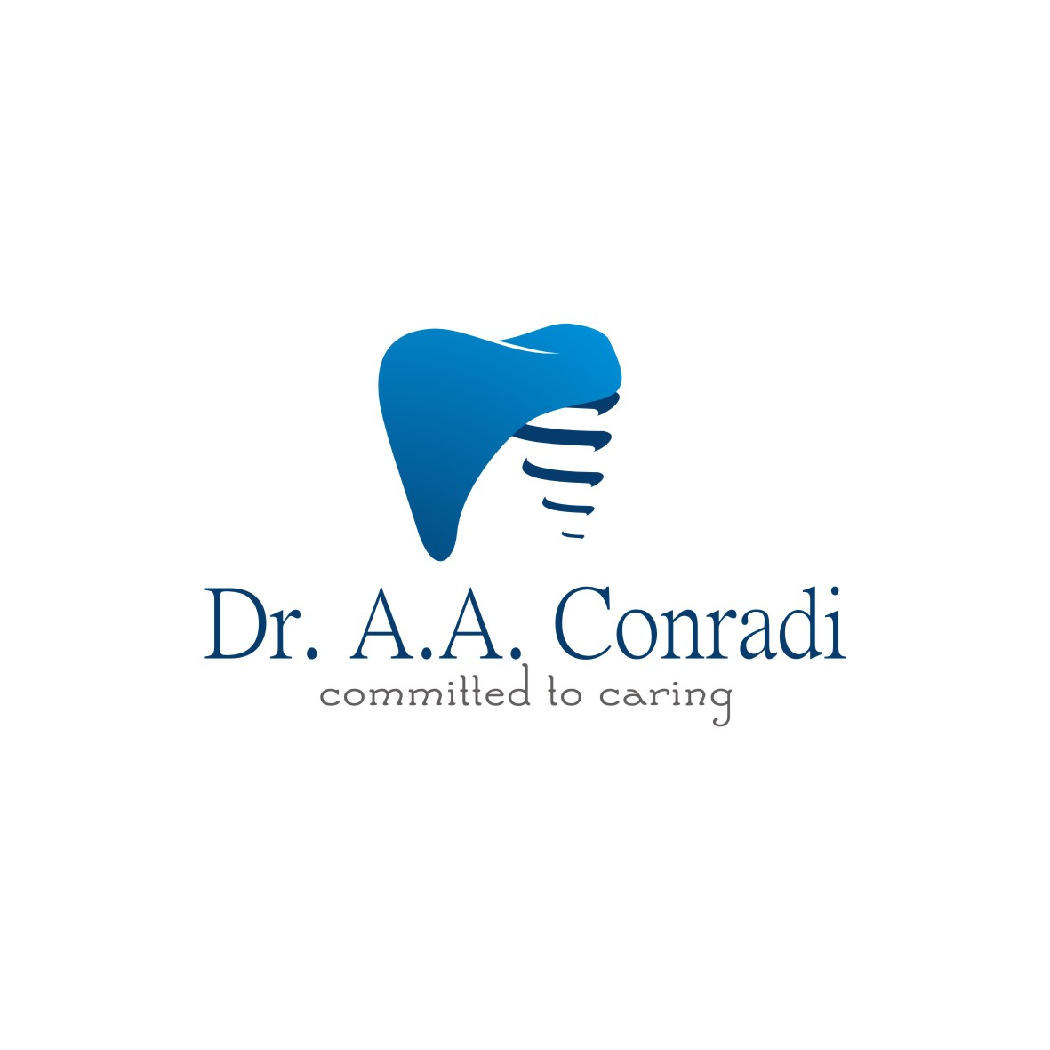 Logo Design by arteo_design - Entry No. 74 in the Logo Design Contest Unique Logo Design Wanted for Dr. A.A. Conradi.