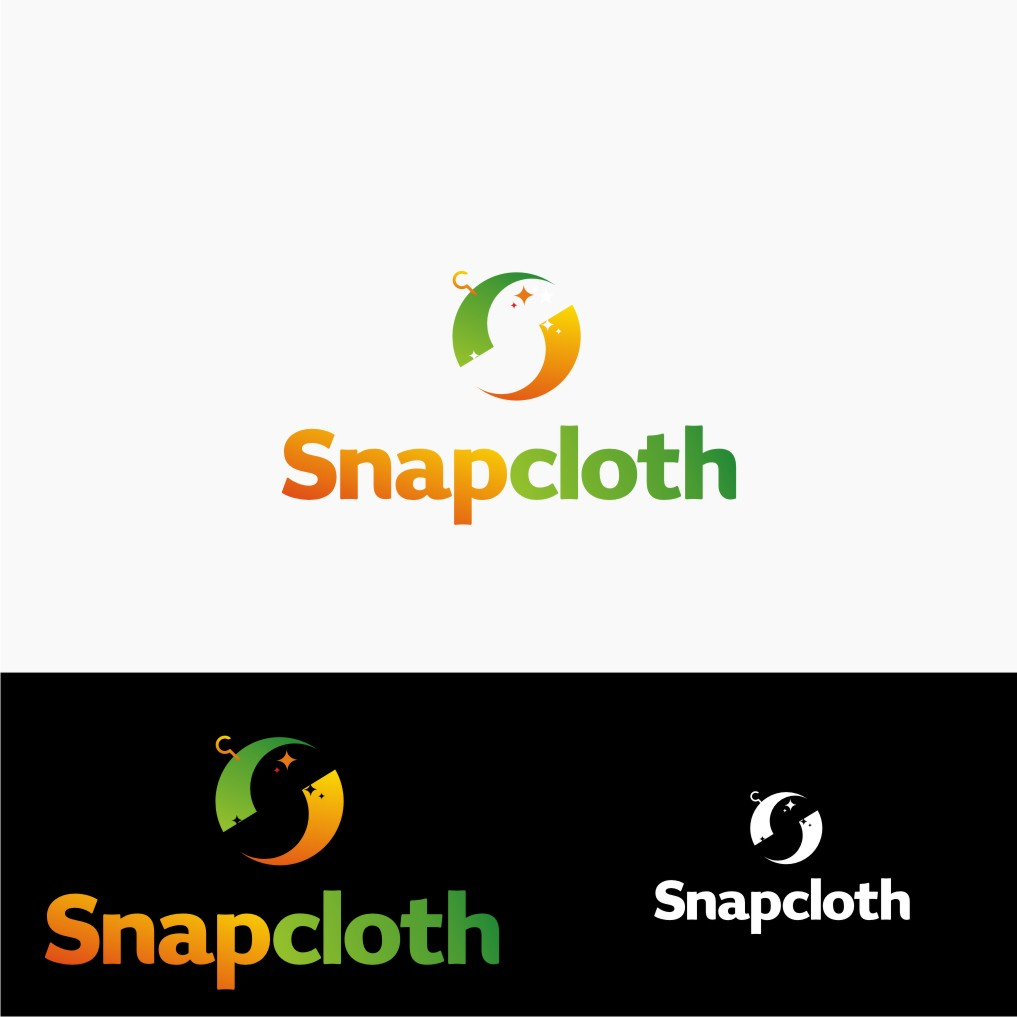 Logo Design by Muhammad Nasrul chasib - Entry No. 81 in the Logo Design Contest Snapcloth Logo Design.