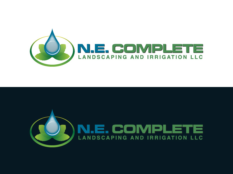 Logo Design by caturro - Entry No. 3 in the Logo Design Contest Fun Logo Design for ne complete landscaping and irrigation.