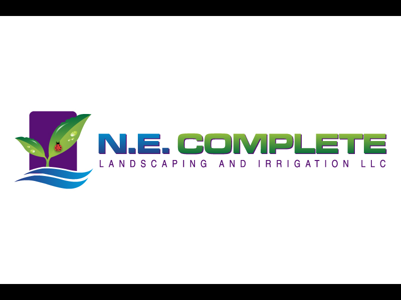 Logo Design by caturro - Entry No. 4 in the Logo Design Contest Fun Logo Design for ne complete landscaping and irrigation.