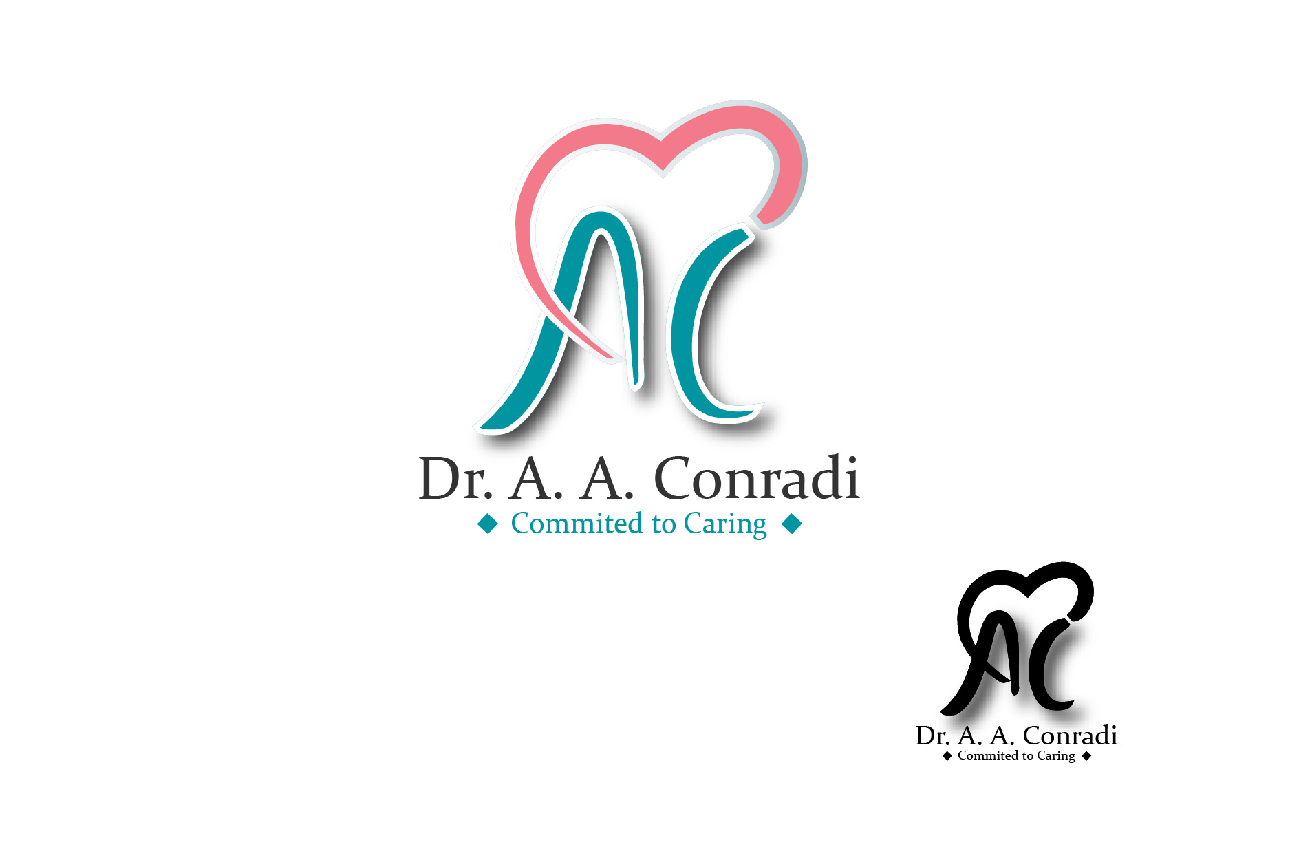 Logo Design by Private User - Entry No. 79 in the Logo Design Contest Unique Logo Design Wanted for Dr. A.A. Conradi.