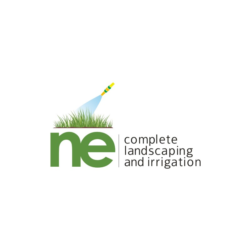 Logo Design by Private User - Entry No. 11 in the Logo Design Contest Fun Logo Design for ne complete landscaping and irrigation.