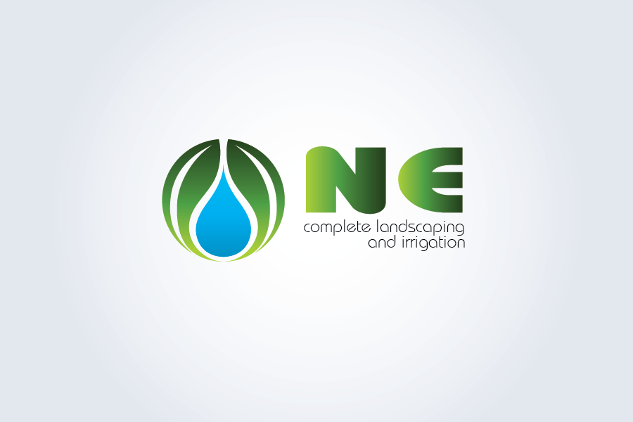 Logo Design by Moin Javed - Entry No. 12 in the Logo Design Contest Fun Logo Design for ne complete landscaping and irrigation.