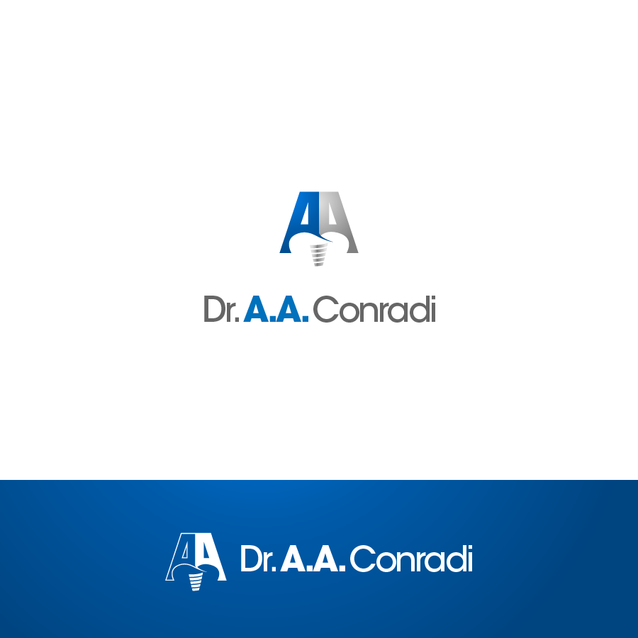 Logo Design by zesthar - Entry No. 88 in the Logo Design Contest Unique Logo Design Wanted for Dr. A.A. Conradi.