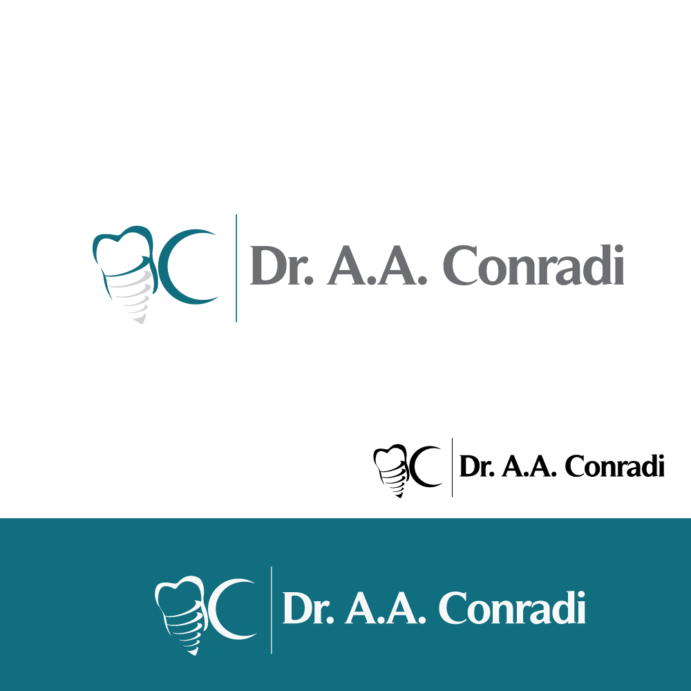 Logo Design by rockin - Entry No. 97 in the Logo Design Contest Unique Logo Design Wanted for Dr. A.A. Conradi.