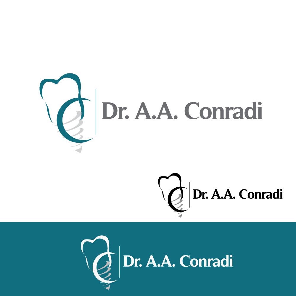 Logo Design by rockin - Entry No. 98 in the Logo Design Contest Unique Logo Design Wanted for Dr. A.A. Conradi.