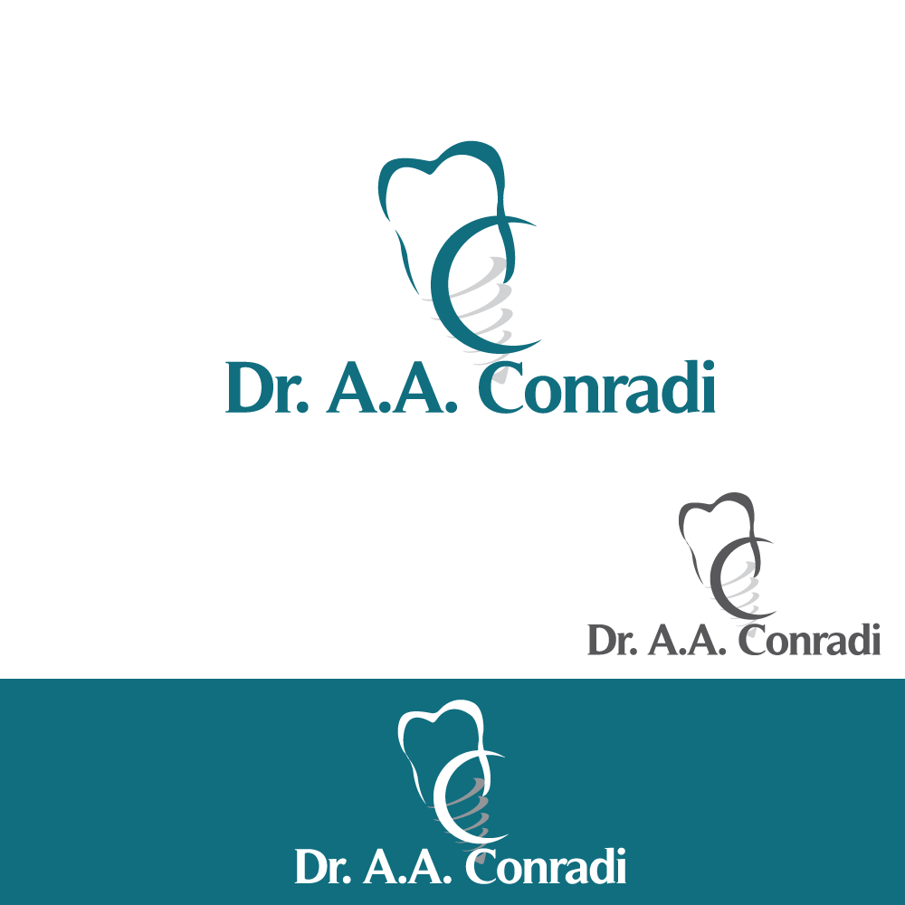 Logo Design by rockin - Entry No. 99 in the Logo Design Contest Unique Logo Design Wanted for Dr. A.A. Conradi.