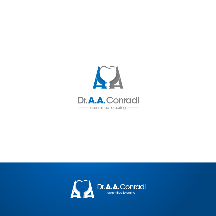 Logo Design by zesthar - Entry No. 102 in the Logo Design Contest Unique Logo Design Wanted for Dr. A.A. Conradi.