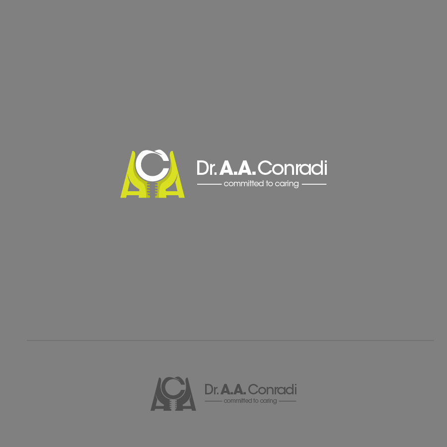 Logo Design by zesthar - Entry No. 104 in the Logo Design Contest Unique Logo Design Wanted for Dr. A.A. Conradi.