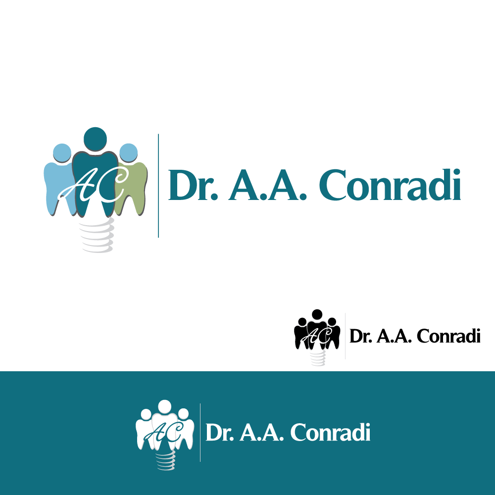 Logo Design by rockin - Entry No. 108 in the Logo Design Contest Unique Logo Design Wanted for Dr. A.A. Conradi.