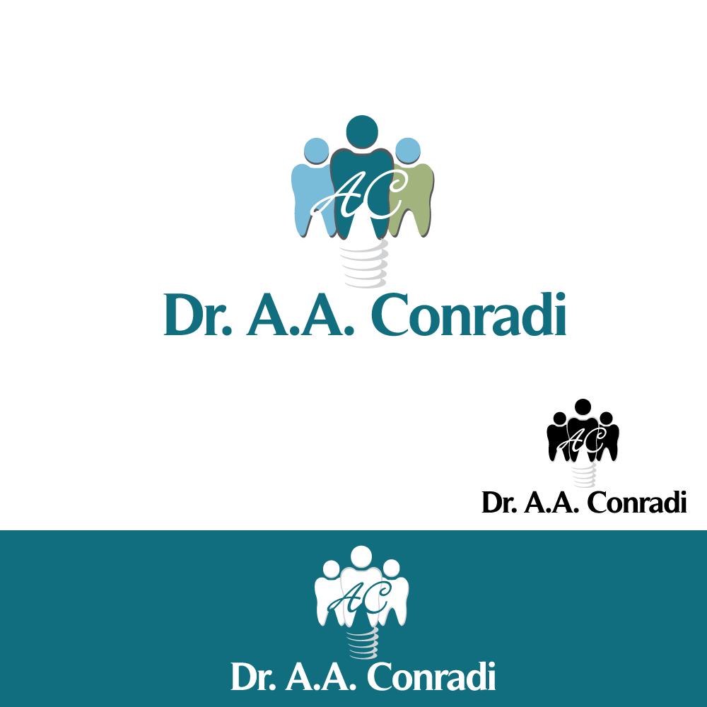 Logo Design by rockin - Entry No. 109 in the Logo Design Contest Unique Logo Design Wanted for Dr. A.A. Conradi.