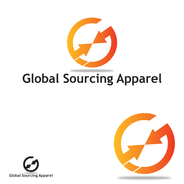 Logo Design by storm - Entry No. 12 in the Logo Design Contest Fun Logo Design for Global Sourcing Apparel.