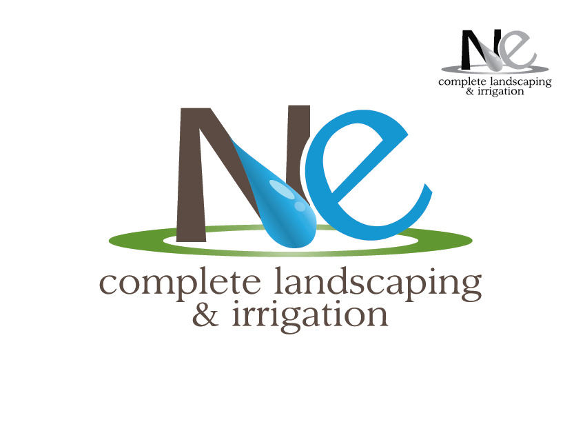 Logo Design by Private User - Entry No. 21 in the Logo Design Contest Fun Logo Design for ne complete landscaping and irrigation.
