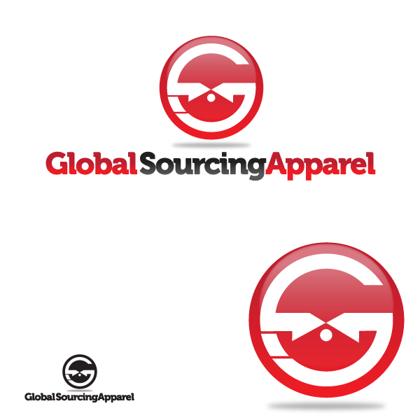 Logo Design by storm - Entry No. 15 in the Logo Design Contest Fun Logo Design for Global Sourcing Apparel.