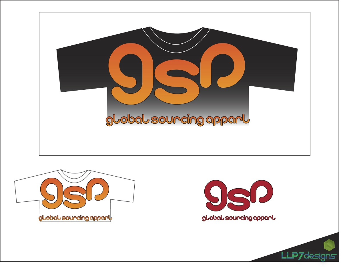 Logo Design by LLP7 - Entry No. 19 in the Logo Design Contest Fun Logo Design for Global Sourcing Apparel.