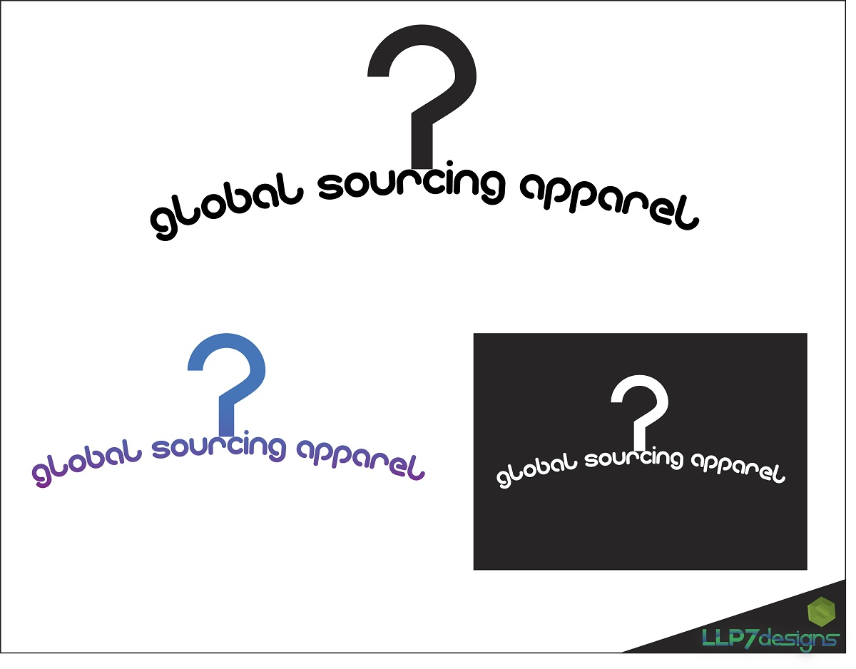 Logo Design by LLP7 - Entry No. 20 in the Logo Design Contest Fun Logo Design for Global Sourcing Apparel.