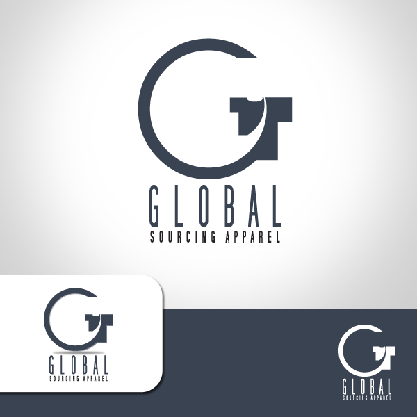 Logo Design by storm - Entry No. 22 in the Logo Design Contest Fun Logo Design for Global Sourcing Apparel.