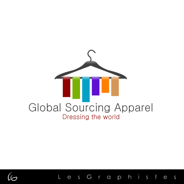 Logo Design by Les-Graphistes - Entry No. 31 in the Logo Design Contest Fun Logo Design for Global Sourcing Apparel.