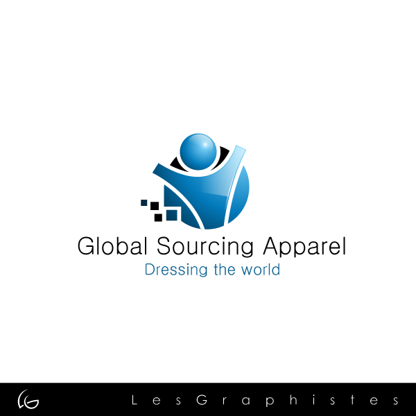 Logo Design by Les-Graphistes - Entry No. 32 in the Logo Design Contest Fun Logo Design for Global Sourcing Apparel.