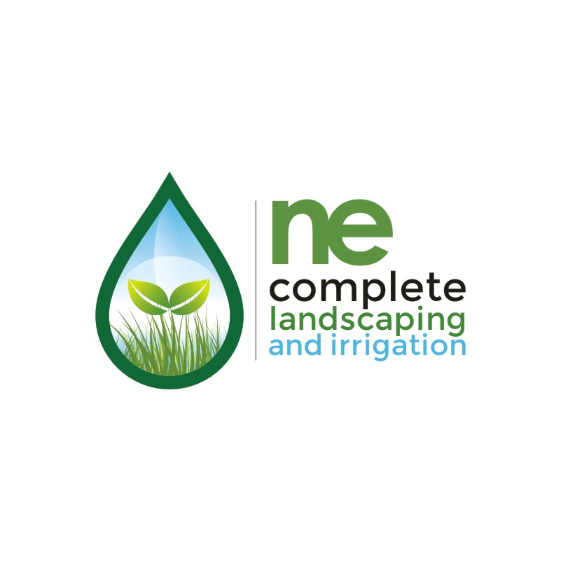 Logo Design by Private User - Entry No. 34 in the Logo Design Contest Fun Logo Design for ne complete landscaping and irrigation.