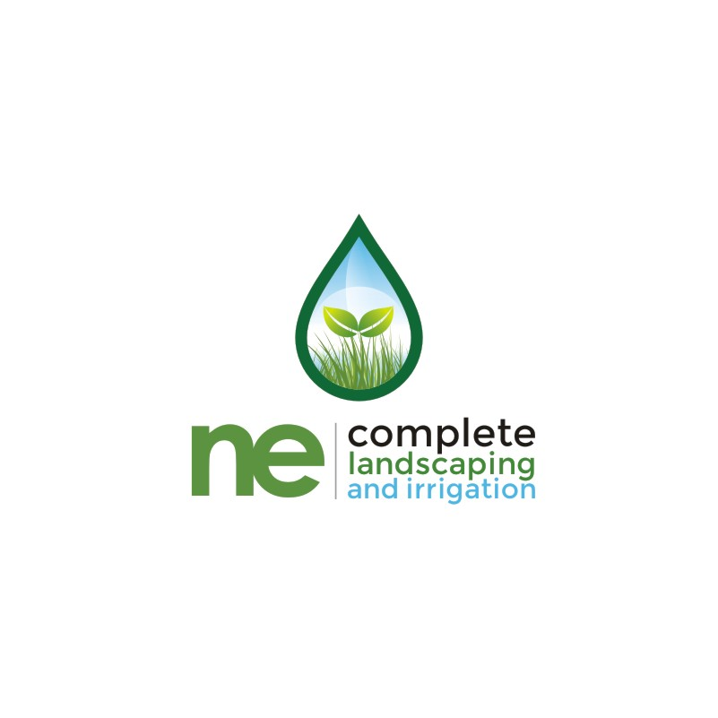 Logo Design by Private User - Entry No. 35 in the Logo Design Contest Fun Logo Design for ne complete landscaping and irrigation.