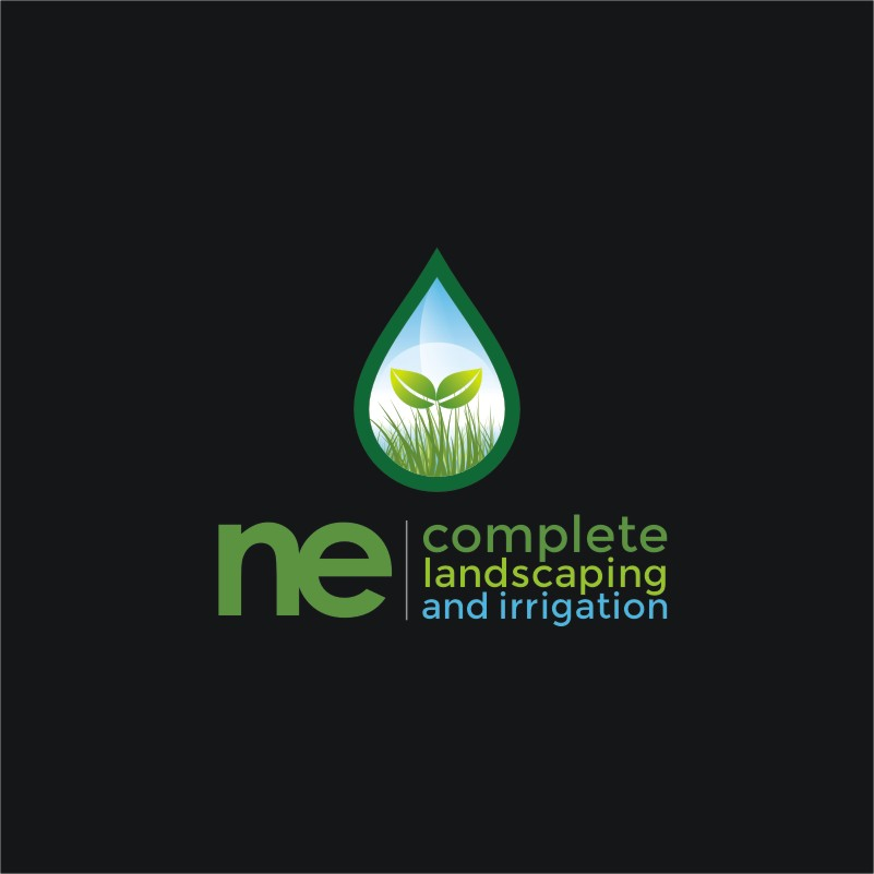 Logo Design by Private User - Entry No. 36 in the Logo Design Contest Fun Logo Design for ne complete landscaping and irrigation.