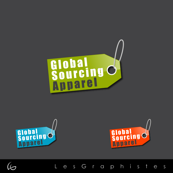 Logo Design by Les-Graphistes - Entry No. 46 in the Logo Design Contest Fun Logo Design for Global Sourcing Apparel.